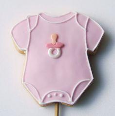 Muccasbronza: Biscotti decorati con tema baby