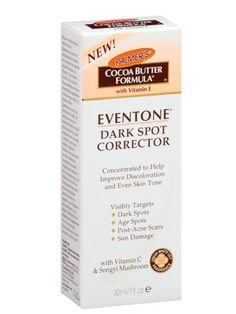 Best Dark Spot Correctors  Palmer's Cocoa Butter Formula Eventone Dark Spot Corrector  $19.99