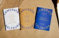 Camerata Salzburg on Behance