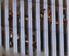 September 11, 2001 \ People stacked on each other...trying to breath.