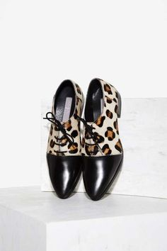 Urge West Leather Oxford Shoe