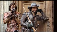 """""""The Musketeers"""" - D'Artagnan & Aramis Musketeers Cast, The Musketeers Tv Series, The Three Musketeers, The Muskateers, Milady De Winter, Luke Pasqualino, The Garrison, Brothers In Arms, Nerd Herd"""