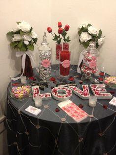 Small Wedding Candy Buffet