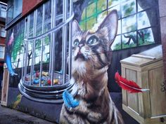 Another popular local artist is Rogue One (aka Bobby McNamara) who grew up in Glasgow and has evolved from a teenage graffiti tagger to creator of some of the city's most iconic street art.