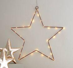 Copper Wire Star Light Decoration