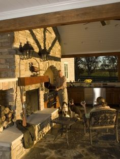hunting design pictures remodel decor and ideas page 4 by naghma patio designoutdoor kitchen - Outdoor Kitchens And Patios Designs