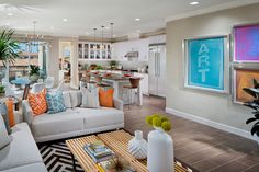 Camden at Playa Vista - Los Angeles real estate - plan 2 kitchen