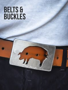 BELTS & BUCKLES | Butcher and Baker aprons, knives, cutting boards, clothing, spices, salts, and gear