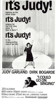 I Could Go On Singing (1963) starring Judy Garland & Dirk Bogarde