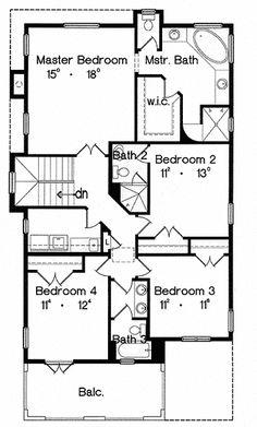 32 best narrow lot plans images facades home plans spanish house rh pinterest com