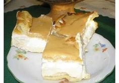 Show details for Recept - Větrník na plech Czech Desserts, Sweet Desserts, Sweet Recipes, Slovak Recipes, Czech Recipes, Baking Recipes, Cake Recipes, Dessert Recipes, No Bake Pies