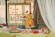 """Photo 1 of 54: Butterfly / Birthday """"Tykki-dyw is Turning Two """" 