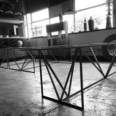 Watch this space! Great fit out on the go at the moment. Some of our best work coming. #designer #table #industrialfurniture