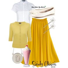 Inspired by Olivia Newton-John's character Sandy Olsson in the 1978 musical film, Grease.