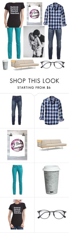 """""""""""Studying"""" with your crush"""" by kellsbo18 ❤ liked on Polyvore featuring Scotch & Soda, Banana Republic, Modernica, Fitz and Floyd and BRIT*"""