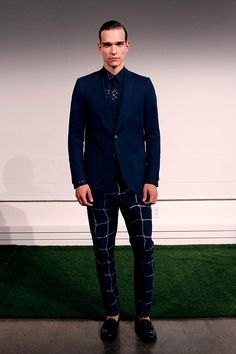 Carlos Campos coleccion primavera verano 2014 New York Fashion Week Modern Times, Gq, Men's Fashion, Formal, Outfits, Style, Fields, Walkways, Spring Summer