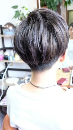 """Check out our internet site for additional info on """"short hairstyles for women"""". It is an outstanding spot to learn more. Korean Short Hair, Short Hair Cuts, Undercut Hairstyles, Cool Hairstyles, Korean Hairstyles, Pelo Ulzzang, Cabello Hair, Kpop Hair, Bowl Cut"""