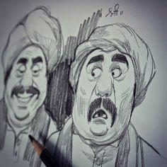 DATTARAJ KAMAT Animation art: A few sketches