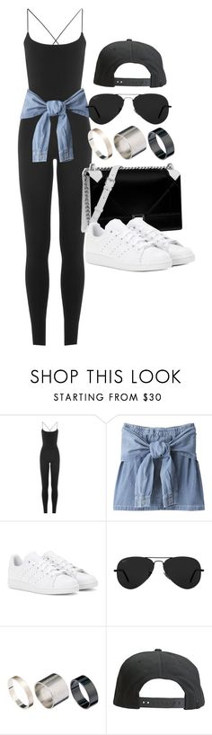 """Style #11285"" by vany-alvarado ❤ liked on Polyvore featuring Valentino, Christian Dior, adidas, Ray-Ban, Just Acces and Tavik Swimwear"