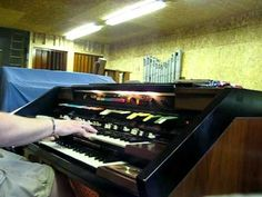 """This was always a favorite at the roller rink where I played, """"Strip Polka"""", on my Hammond Concorde. Just using the built-in speakers, with Leslie, as I don'. Hammond Organ, The Hammond, Polka Music, Organ Music, Roller Rink, Built In Speakers, Concorde, Music Instruments, Musical Instruments"""