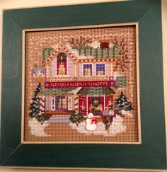 Needlework Shop - Mill Hill Christmas Village