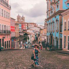 Qué hacer en Salvador de Bahia en 1 dia? • Romi x el mundo Brazil Holidays, Brazil Travel, Portugal, Places To Visit, Around The Worlds, Street View, Explore, Adventure, Life