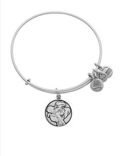 Disney Alex and Ani bracelet - Ariel (in Silver)