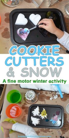 Cookie Cutters & Snow – HAPPY TODDLER PLAYTIME