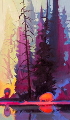 "Stephen Quiller's colors are to ""dye"" for."