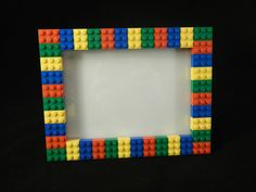 Our Lego Picture frames are perfect for a child's room, graduation, or birthday parties!