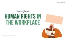 Header image with Human Rights and their implication in the workplace, South African Business Studies, with illustration of black woman protesting. Black lives matter illustration from Canva | Definition of Human Rights: Human rights are basic rights and freedoms that belong to every person, simply because they are human. It does not matter what religion, gender, race or political group. In South Africa, the list of human rights can be found in the Bill of Rights; Chapter 2 of the… Human Rights Definition, Human Rights List, What Are Human Rights, What Is Human, Past Exam Papers, Past Exams, Right To Privacy, Right To Choose, Business Studies