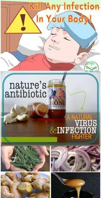 Nature's antibiotic: A natural virus & infection fighter - Our Happy Life Natural Flu Remedies, Cold Remedies, Natural Cures, Natural Healing, Holistic Remedies, Holistic Healing, Health Tips, Health And Wellness, Natural Antibiotics