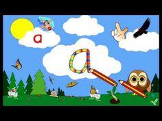 Image de prévisualisation YouTube Education Application, Alphabet Script, Kindergarten Websites, Letter A Crafts, Youtube, Phonics, Literacy, Family Guy, Alphabet