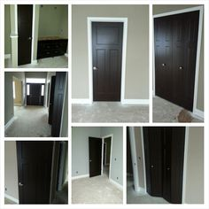 Interior doors painted on pinterest interior doors - Colors that match with black ...