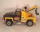 "Vintage Tonka Tow Truck ""Dynamite Towing"""