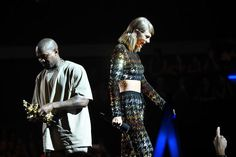 Kanye vs. Taylor plays out online in frighteningly low resolution     - CNET  Enlarge Image  Another feud between Kanye and Taylor? Release the houndstooth.                                              Larry Busacca/Getty                                          Welcome to the age of internet shade. Kanye phones Taylor Kim Snapchats the convo Taylor responds via Instagram and Twitter makes a Moment. Dissing people used to be so much less data intensive.  Social media can barely contain…