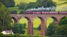 Galatea Steam Train, Eden Valley, Cumbria, England #SunKuWriter #Portugal FREE Books ► http://Sun-Ku.com ◄
