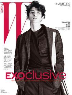 Baekhyun (EXO) - W Magazine July Issue '16