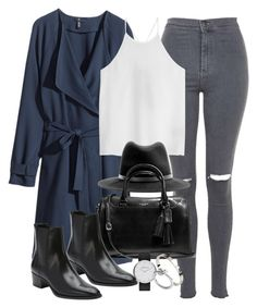 """""""Untitled #2684"""" by angieswardrobe ❤ liked on Polyvore featuring H&M, Topshop, TIBI, rag & bone, Coach, Yves Saint Laurent, Cartier, Marc Jacobs and Michael Kors"""