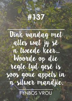 Fynbos Vrou added a new photo. Good Morning Messages, Word Pictures, Afrikaans, Christian, Words, Quotes, Mornings, Type 3, Facebook