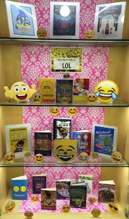 Books That Make You LOL | Library Book Display