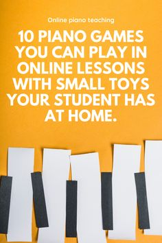 Using small manipulatives in online lessons can be a helpful way to bring some fun hands-on learning to your lessons. Here are 10 games you can play with any small toy your student has on hand (LEGO men, shopkins etc. Music Education Games, Music Activities, Physical Education, Special Education, Health Education, Education Quotes, Piano Lessons For Kids, Drum Lessons, Music Classroom