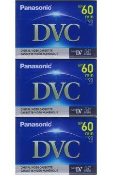 3 Mini DV MiniDV VIDEO TAPE CASSETTEs for SONY DCR-TRV 22 / DCR-TRV 33 / DCR-TRV 18 / DCR-TRV 25 / DCR-TRV 940 by Panasonic. $9.99