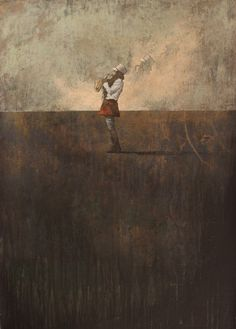 "Federico Infante, Untitled XV, 2013, Acrylic on Paper, 39¼"" x 27½"" #art #bdgny"