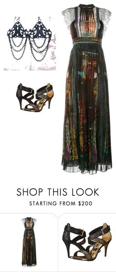Romantic Night by redgypsyjewelry on Polyvore featuring Valentino , Red Gypsy Jewelry and Ted Baker
