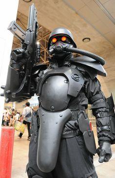 Straydog Panzer Cop cosplay