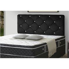 Cama Box Queen, Mattress, Bed, Furniture, Home Decor, Nova, Products, Couple Room, Bedroom Decor