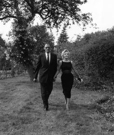 Marilyn Monroe and Arthur Miller in the Fifties