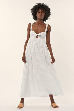 The summer white Maxi Dress