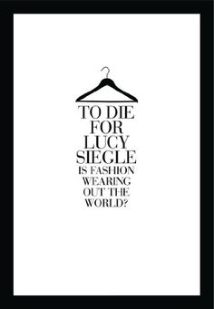 To Die For: Is Fashion Wearing Out the World? by [Siegle, Lucy]